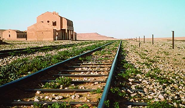 PHOTO: Former site of Tendrara labor camp, Morocco. Jennie Litvack