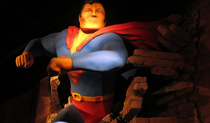 Superman at the Maltz Museum