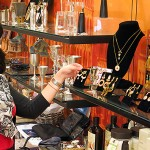 Jewelry shopping in the Maltz Museum Store