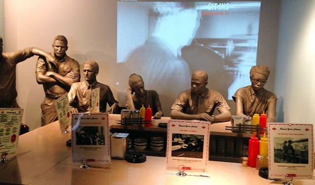 Sit-Ins at segregated lunch counters