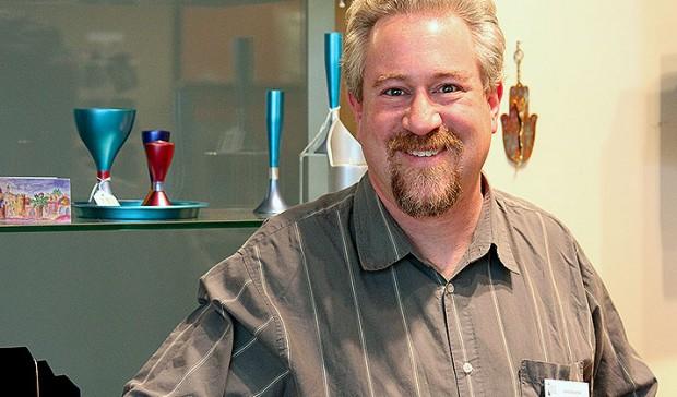 Museum Store Manager Larry Solomon