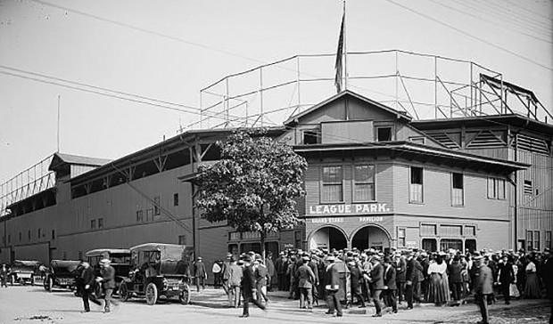 League Park circa 1905