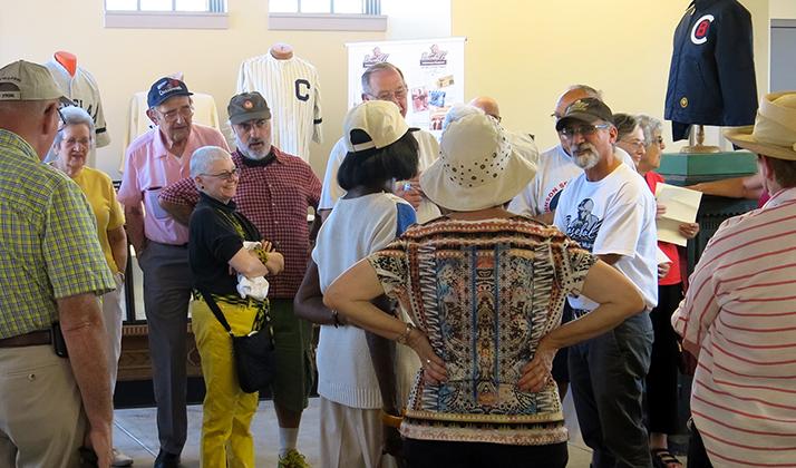 Member Reception at Baseball Heritage Museum
