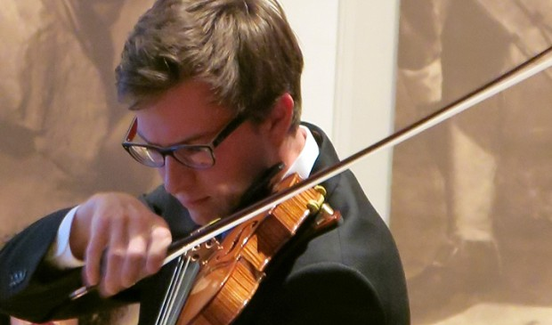 Live performance on the Violins of Hope