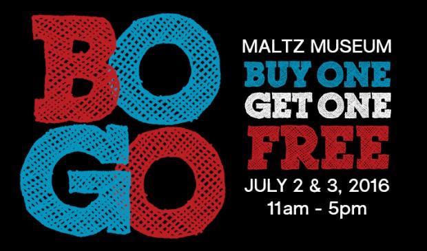 Buy One Get One Free Weekend