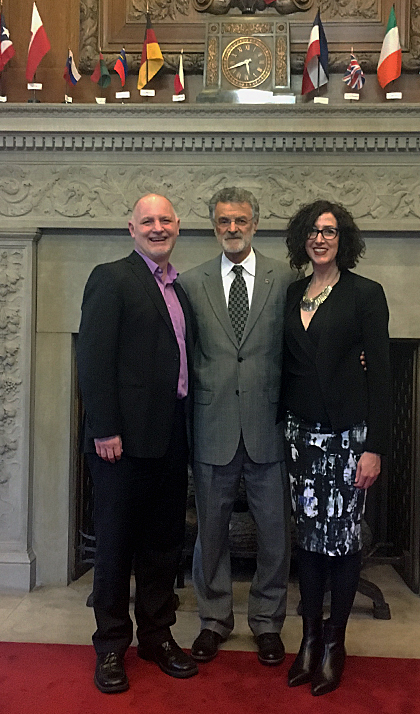 Jeffery, Mayor Jackson and Ellen